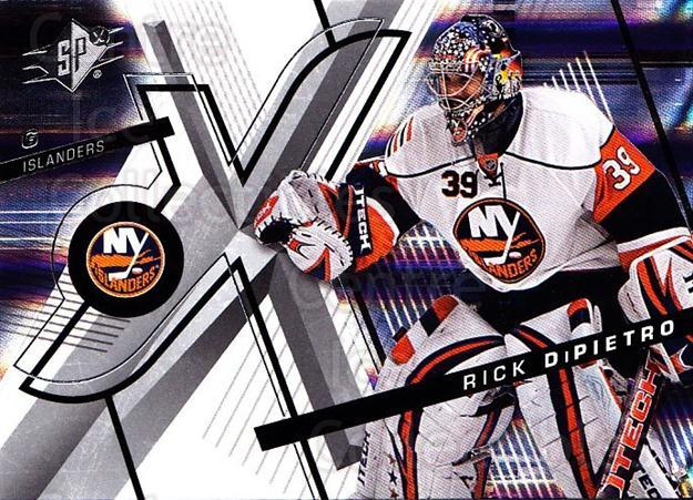 2008-09 Spx #39 Rick DiPietro<br/>4 In Stock - $1.00 each - <a href=https://centericecollectibles.foxycart.com/cart?name=2008-09%20Spx%20%2339%20Rick%20DiPietro...&quantity_max=4&price=$1.00&code=213276 class=foxycart> Buy it now! </a>