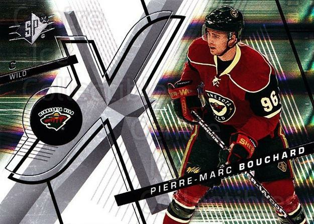 2008-09 Spx #51 Pierre-Marc Bouchard<br/>3 In Stock - $1.00 each - <a href=https://centericecollectibles.foxycart.com/cart?name=2008-09%20Spx%20%2351%20Pierre-Marc%20Bou...&quantity_max=3&price=$1.00&code=213288 class=foxycart> Buy it now! </a>