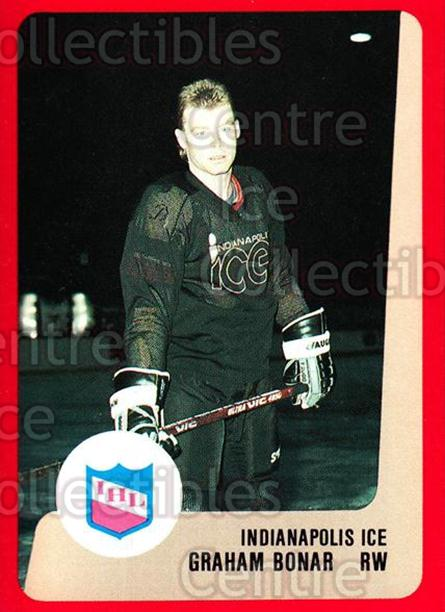 1988-89 ProCards IHL #15 Graeme Bonar<br/>11 In Stock - $2.00 each - <a href=https://centericecollectibles.foxycart.com/cart?name=1988-89%20ProCards%20IHL%20%2315%20Graeme%20Bonar...&quantity_max=11&price=$2.00&code=21328 class=foxycart> Buy it now! </a>