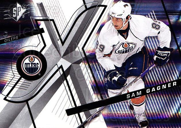 2008-09 Spx #57 Sam Gagner<br/>4 In Stock - $1.00 each - <a href=https://centericecollectibles.foxycart.com/cart?name=2008-09%20Spx%20%2357%20Sam%20Gagner...&quantity_max=4&price=$1.00&code=213294 class=foxycart> Buy it now! </a>