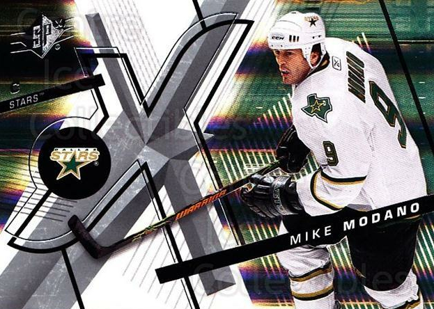 2008-09 Spx #64 Mike Modano<br/>3 In Stock - $2.00 each - <a href=https://centericecollectibles.foxycart.com/cart?name=2008-09%20Spx%20%2364%20Mike%20Modano...&quantity_max=3&price=$2.00&code=213301 class=foxycart> Buy it now! </a>