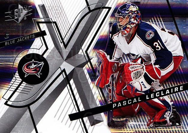 2008-09 Spx #68 Pascal Leclaire<br/>5 In Stock - $1.00 each - <a href=https://centericecollectibles.foxycart.com/cart?name=2008-09%20Spx%20%2368%20Pascal%20Leclaire...&quantity_max=5&price=$1.00&code=213305 class=foxycart> Buy it now! </a>