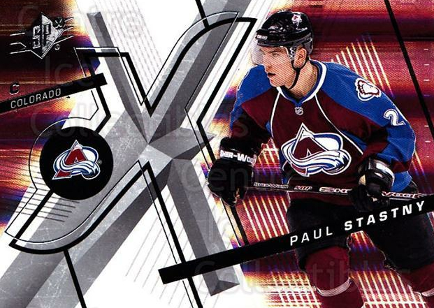 2008-09 Spx #72 Paul Stastny<br/>5 In Stock - $1.00 each - <a href=https://centericecollectibles.foxycart.com/cart?name=2008-09%20Spx%20%2372%20Paul%20Stastny...&quantity_max=5&price=$1.00&code=213309 class=foxycart> Buy it now! </a>