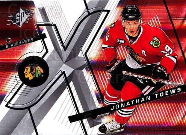 2008-09 Spx #77 Jonathan Toews<br/>4 In Stock - $2.00 each - <a href=https://centericecollectibles.foxycart.com/cart?name=2008-09%20Spx%20%2377%20Jonathan%20Toews...&quantity_max=4&price=$2.00&code=213314 class=foxycart> Buy it now! </a>