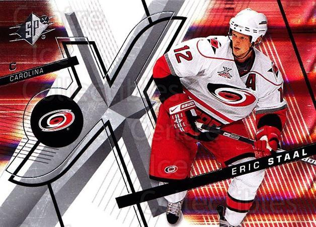 2008-09 Spx #79 Eric Staal<br/>5 In Stock - $1.00 each - <a href=https://centericecollectibles.foxycart.com/cart?name=2008-09%20Spx%20%2379%20Eric%20Staal...&quantity_max=5&price=$1.00&code=213316 class=foxycart> Buy it now! </a>