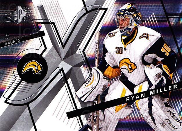 2008-09 Spx #87 Ryan Miller<br/>2 In Stock - $1.00 each - <a href=https://centericecollectibles.foxycart.com/cart?name=2008-09%20Spx%20%2387%20Ryan%20Miller...&quantity_max=2&price=$1.00&code=213324 class=foxycart> Buy it now! </a>