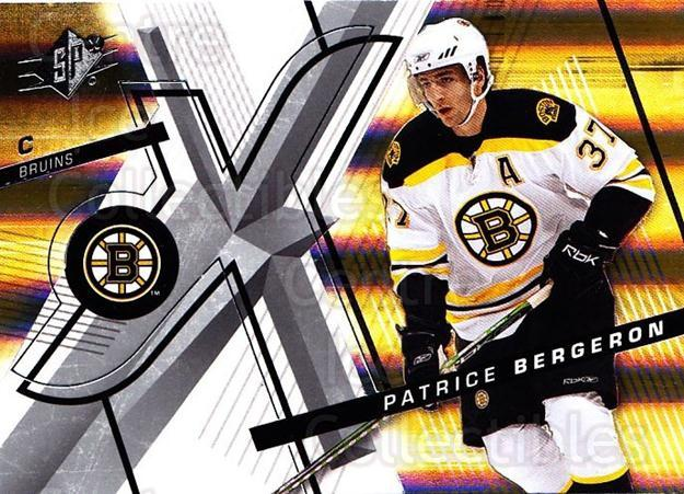 2008-09 Spx #90 Patrice Bergeron<br/>2 In Stock - $2.00 each - <a href=https://centericecollectibles.foxycart.com/cart?name=2008-09%20Spx%20%2390%20Patrice%20Bergero...&quantity_max=2&price=$2.00&code=213327 class=foxycart> Buy it now! </a>