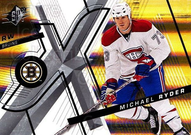 2008-09 Spx #94 Michael Ryder<br/>3 In Stock - $1.00 each - <a href=https://centericecollectibles.foxycart.com/cart?name=2008-09%20Spx%20%2394%20Michael%20Ryder...&quantity_max=3&price=$1.00&code=213331 class=foxycart> Buy it now! </a>