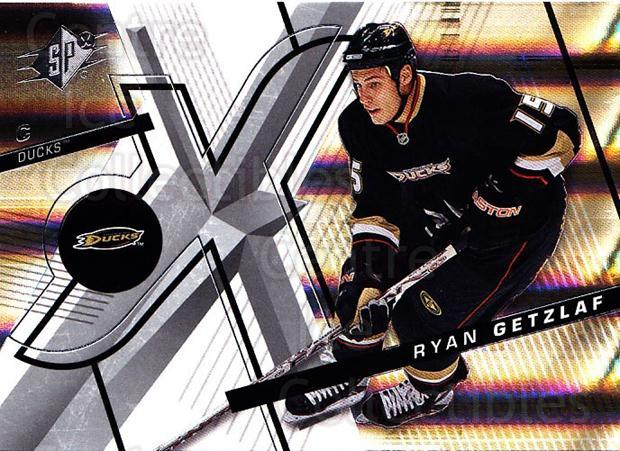 2008-09 Spx #99 Ryan Getzlaf<br/>5 In Stock - $1.00 each - <a href=https://centericecollectibles.foxycart.com/cart?name=2008-09%20Spx%20%2399%20Ryan%20Getzlaf...&quantity_max=5&price=$1.00&code=213336 class=foxycart> Buy it now! </a>