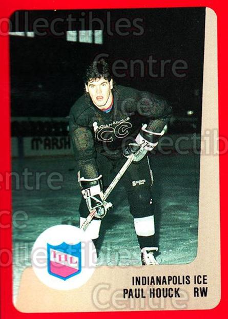 1988-89 ProCards IHL #20 Paul Houck<br/>4 In Stock - $2.00 each - <a href=https://centericecollectibles.foxycart.com/cart?name=1988-89%20ProCards%20IHL%20%2320%20Paul%20Houck...&quantity_max=4&price=$2.00&code=21334 class=foxycart> Buy it now! </a>