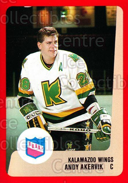 1988-89 ProCards IHL #24 Andy Akervik<br/>12 In Stock - $2.00 each - <a href=https://centericecollectibles.foxycart.com/cart?name=1988-89%20ProCards%20IHL%20%2324%20Andy%20Akervik...&quantity_max=12&price=$2.00&code=21338 class=foxycart> Buy it now! </a>