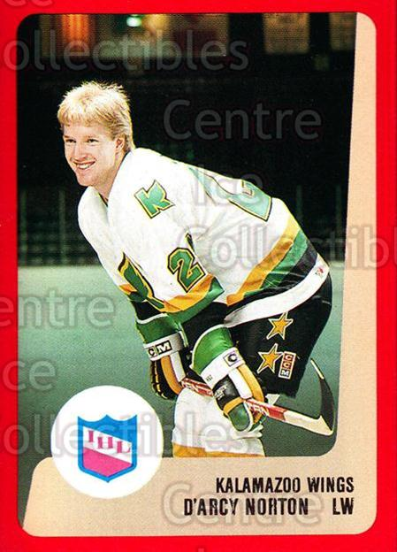 1988-89 ProCards IHL #27 Darcy Norton<br/>13 In Stock - $2.00 each - <a href=https://centericecollectibles.foxycart.com/cart?name=1988-89%20ProCards%20IHL%20%2327%20Darcy%20Norton...&quantity_max=13&price=$2.00&code=21340 class=foxycart> Buy it now! </a>
