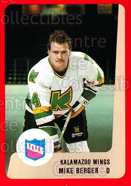 1988-89 ProCards IHL #31 Mike Berger<br/>3 In Stock - $2.00 each - <a href=https://centericecollectibles.foxycart.com/cart?name=1988-89%20ProCards%20IHL%20%2331%20Mike%20Berger...&quantity_max=3&price=$2.00&code=21345 class=foxycart> Buy it now! </a>