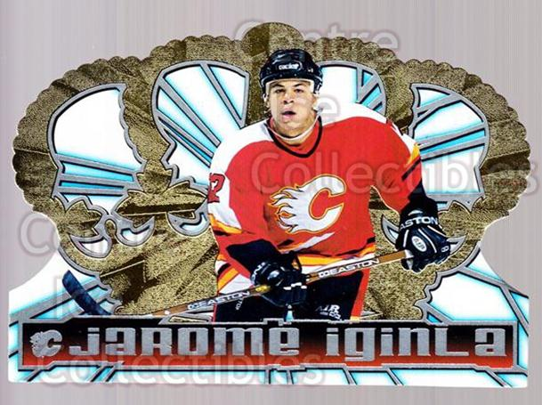 1998-99 Crown Royale #19 Jarome Iginla<br/>2 In Stock - $2.00 each - <a href=https://centericecollectibles.foxycart.com/cart?name=1998-99%20Crown%20Royale%20%2319%20Jarome%20Iginla...&quantity_max=2&price=$2.00&code=213500 class=foxycart> Buy it now! </a>