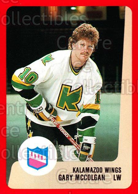 1988-89 ProCards IHL #37 Gary McColgan<br/>8 In Stock - $2.00 each - <a href=https://centericecollectibles.foxycart.com/cart?name=1988-89%20ProCards%20IHL%20%2337%20Gary%20McColgan...&quantity_max=8&price=$2.00&code=21351 class=foxycart> Buy it now! </a>