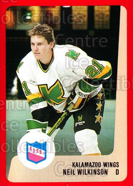 1988-89 ProCards IHL #39 Neil Wilkinson<br/>12 In Stock - $2.00 each - <a href=https://centericecollectibles.foxycart.com/cart?name=1988-89%20ProCards%20IHL%20%2339%20Neil%20Wilkinson...&quantity_max=12&price=$2.00&code=21353 class=foxycart> Buy it now! </a>