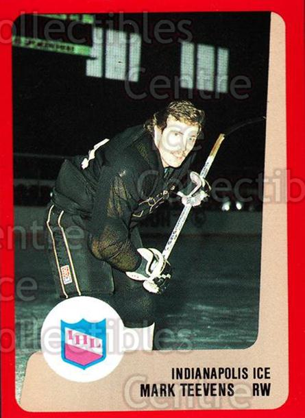 1988-89 ProCards IHL #4 Mark Teevens<br/>11 In Stock - $2.00 each - <a href=https://centericecollectibles.foxycart.com/cart?name=1988-89%20ProCards%20IHL%20%234%20Mark%20Teevens...&quantity_max=11&price=$2.00&code=21354 class=foxycart> Buy it now! </a>