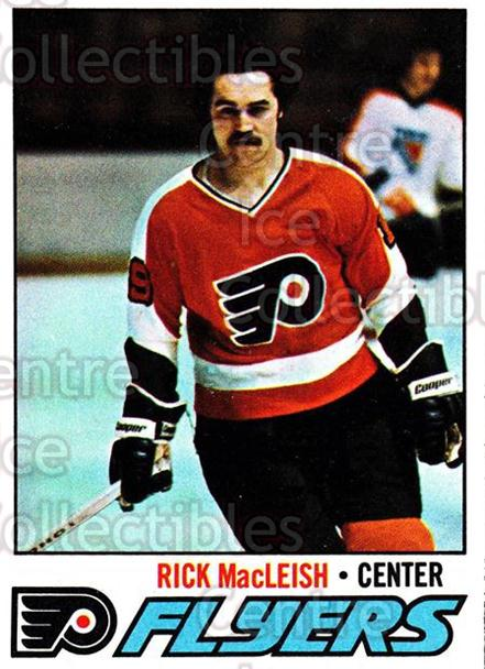 1977-78 Topps #15 Rick MacLeish<br/>3 In Stock - $1.00 each - <a href=https://centericecollectibles.foxycart.com/cart?name=1977-78%20Topps%20%2315%20Rick%20MacLeish...&price=$1.00&code=213558 class=foxycart> Buy it now! </a>