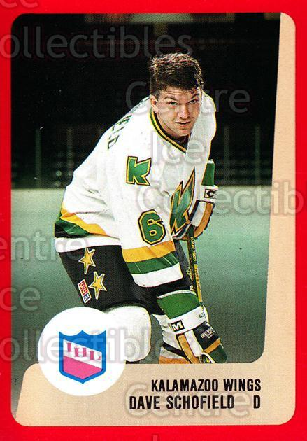 1988-89 ProCards IHL #42 Dave Schofield<br/>13 In Stock - $2.00 each - <a href=https://centericecollectibles.foxycart.com/cart?name=1988-89%20ProCards%20IHL%20%2342%20Dave%20Schofield...&quantity_max=13&price=$2.00&code=21357 class=foxycart> Buy it now! </a>