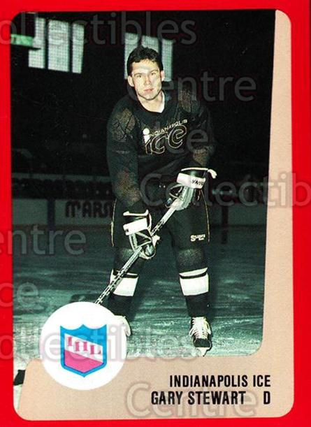 1988-89 ProCards IHL #5 Gary Stewart<br/>10 In Stock - $2.00 each - <a href=https://centericecollectibles.foxycart.com/cart?name=1988-89%20ProCards%20IHL%20%235%20Gary%20Stewart...&quantity_max=10&price=$2.00&code=21364 class=foxycart> Buy it now! </a>