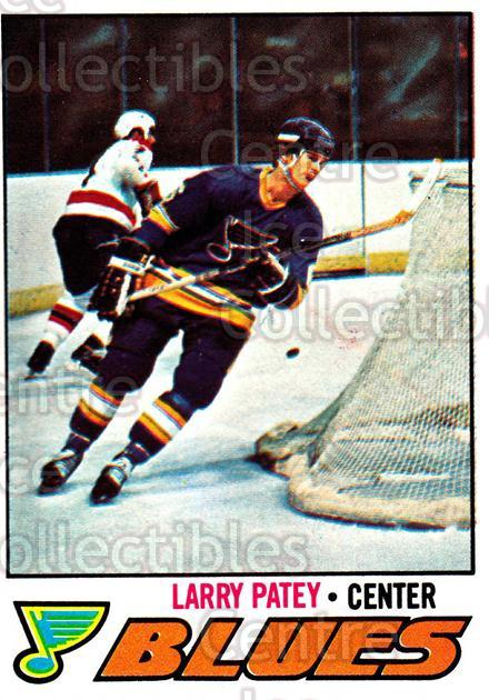 1977-78 Topps #199 Larry Patey<br/>8 In Stock - $1.00 each - <a href=https://centericecollectibles.foxycart.com/cart?name=1977-78%20Topps%20%23199%20Larry%20Patey...&quantity_max=8&price=$1.00&code=213742 class=foxycart> Buy it now! </a>
