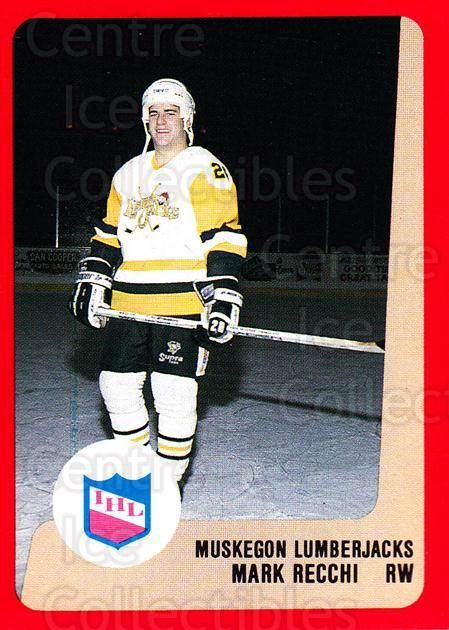 1988-89 ProCards IHL #62 Mark Recchi<br/>3 In Stock - $5.00 each - <a href=https://centericecollectibles.foxycart.com/cart?name=1988-89%20ProCards%20IHL%20%2362%20Mark%20Recchi...&quantity_max=3&price=$5.00&code=21378 class=foxycart> Buy it now! </a>