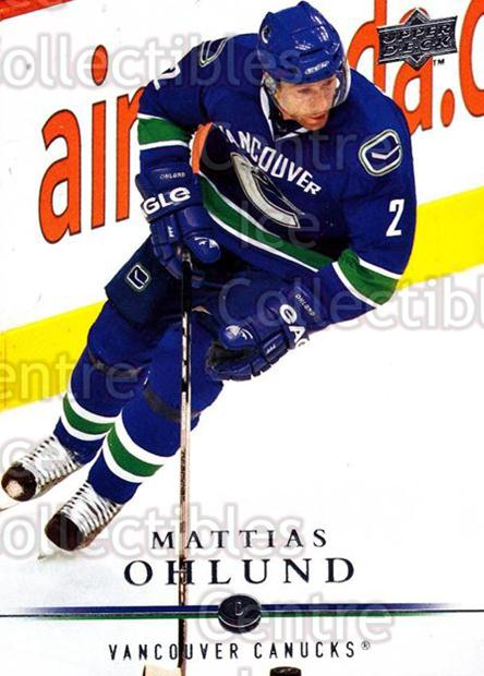 2008-09 Upper Deck #7 Mattias Ohlund<br/>13 In Stock - $1.00 each - <a href=https://centericecollectibles.foxycart.com/cart?name=2008-09%20Upper%20Deck%20%237%20Mattias%20Ohlund...&quantity_max=13&price=$1.00&code=213859 class=foxycart> Buy it now! </a>