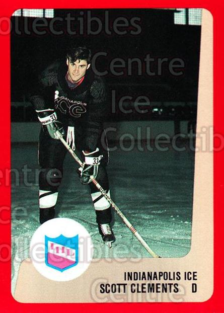 1988-89 ProCards IHL #7 Scott Clements<br/>11 In Stock - $2.00 each - <a href=https://centericecollectibles.foxycart.com/cart?name=1988-89%20ProCards%20IHL%20%237%20Scott%20Clements...&quantity_max=11&price=$2.00&code=21386 class=foxycart> Buy it now! </a>
