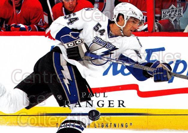 2008-09 Upper Deck #22 Paul Ranger<br/>13 In Stock - $1.00 each - <a href=https://centericecollectibles.foxycart.com/cart?name=2008-09%20Upper%20Deck%20%2322%20Paul%20Ranger...&quantity_max=13&price=$1.00&code=213874 class=foxycart> Buy it now! </a>