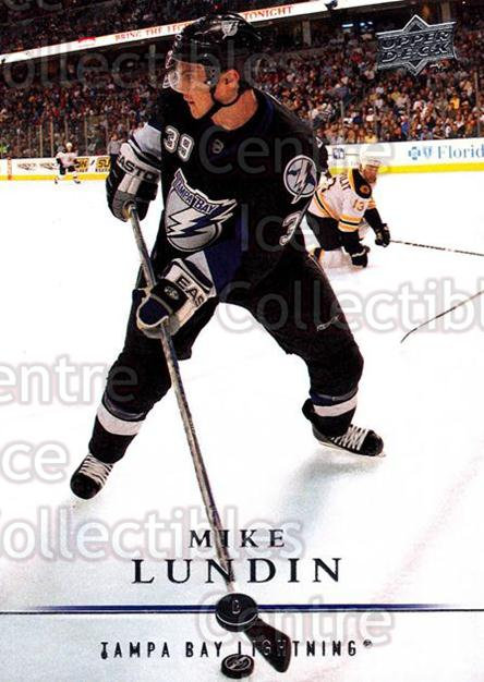 2008-09 Upper Deck #27 Mike Lundin<br/>11 In Stock - $1.00 each - <a href=https://centericecollectibles.foxycart.com/cart?name=2008-09%20Upper%20Deck%20%2327%20Mike%20Lundin...&quantity_max=11&price=$1.00&code=213879 class=foxycart> Buy it now! </a>