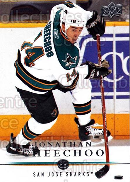 2008-09 Upper Deck #38 Jonathan Cheechoo<br/>13 In Stock - $1.00 each - <a href=https://centericecollectibles.foxycart.com/cart?name=2008-09%20Upper%20Deck%20%2338%20Jonathan%20Cheech...&quantity_max=13&price=$1.00&code=213890 class=foxycart> Buy it now! </a>