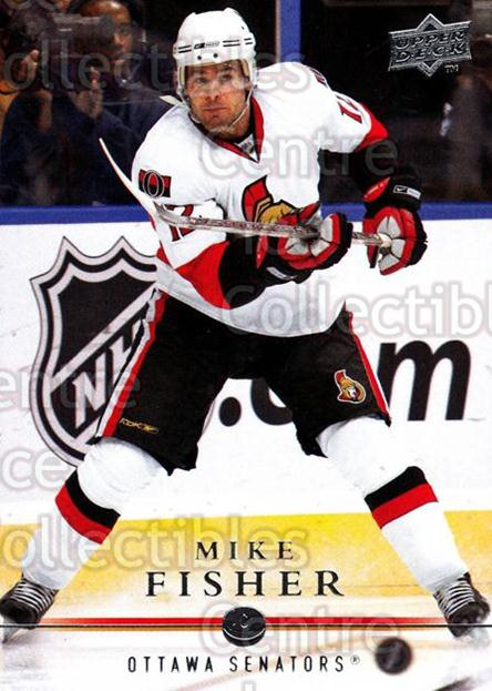 2008-09 Upper Deck #64 Mike Fisher<br/>14 In Stock - $1.00 each - <a href=https://centericecollectibles.foxycart.com/cart?name=2008-09%20Upper%20Deck%20%2364%20Mike%20Fisher...&quantity_max=14&price=$1.00&code=213916 class=foxycart> Buy it now! </a>