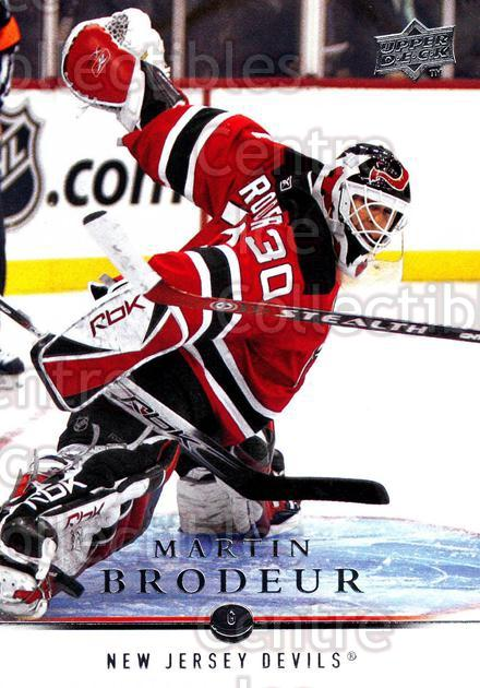 2008-09 Upper Deck #81 Martin Brodeur<br/>52 In Stock - $2.00 each - <a href=https://centericecollectibles.foxycart.com/cart?name=2008-09%20Upper%20Deck%20%2381%20Martin%20Brodeur...&quantity_max=52&price=$2.00&code=213933 class=foxycart> Buy it now! </a>
