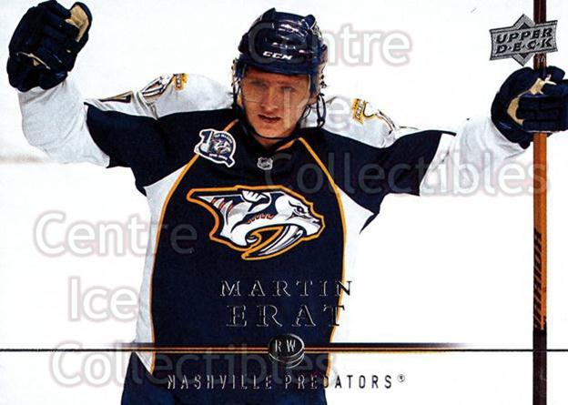 2008-09 Upper Deck #88 Martin Erat<br/>14 In Stock - $1.00 each - <a href=https://centericecollectibles.foxycart.com/cart?name=2008-09%20Upper%20Deck%20%2388%20Martin%20Erat...&quantity_max=14&price=$1.00&code=213940 class=foxycart> Buy it now! </a>