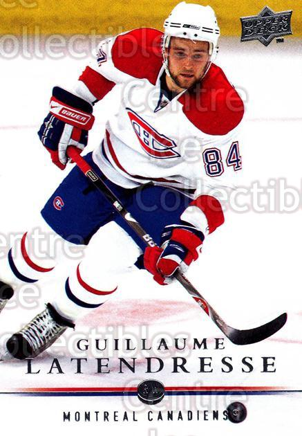 2008-09 Upper Deck #94 Guillaume Latendresse<br/>13 In Stock - $1.00 each - <a href=https://centericecollectibles.foxycart.com/cart?name=2008-09%20Upper%20Deck%20%2394%20Guillaume%20Laten...&quantity_max=13&price=$1.00&code=213946 class=foxycart> Buy it now! </a>