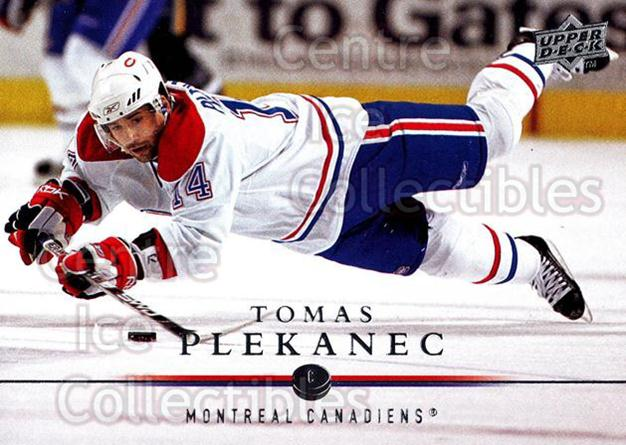 2008-09 Upper Deck #96 Tomas Plekanec<br/>12 In Stock - $1.00 each - <a href=https://centericecollectibles.foxycart.com/cart?name=2008-09%20Upper%20Deck%20%2396%20Tomas%20Plekanec...&quantity_max=12&price=$1.00&code=213948 class=foxycart> Buy it now! </a>