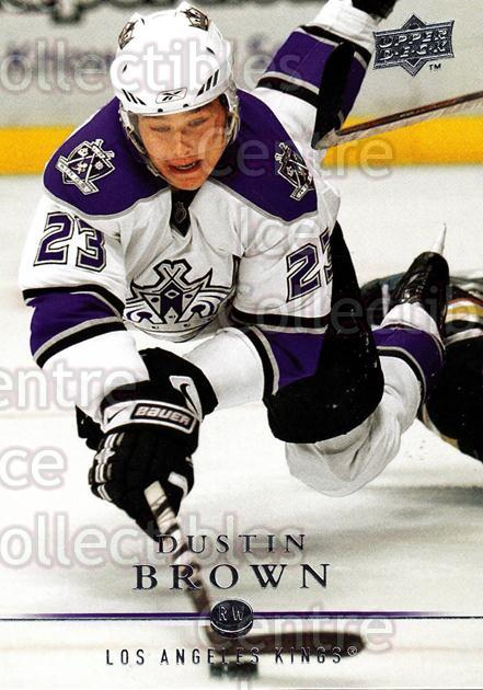 2008-09 Upper Deck #110 Dustin Brown<br/>13 In Stock - $1.00 each - <a href=https://centericecollectibles.foxycart.com/cart?name=2008-09%20Upper%20Deck%20%23110%20Dustin%20Brown...&quantity_max=13&price=$1.00&code=213962 class=foxycart> Buy it now! </a>