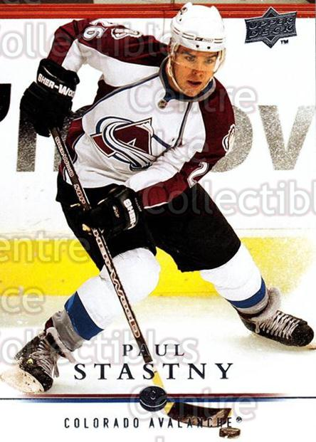 2008-09 Upper Deck #147 Paul Stastny<br/>14 In Stock - $1.00 each - <a href=https://centericecollectibles.foxycart.com/cart?name=2008-09%20Upper%20Deck%20%23147%20Paul%20Stastny...&quantity_max=14&price=$1.00&code=213999 class=foxycart> Buy it now! </a>