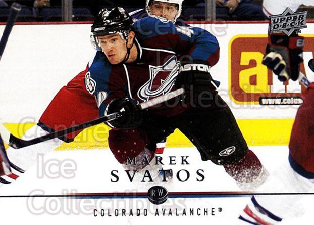 2008-09 Upper Deck #149 Marek Svatos<br/>14 In Stock - $1.00 each - <a href=https://centericecollectibles.foxycart.com/cart?name=2008-09%20Upper%20Deck%20%23149%20Marek%20Svatos...&quantity_max=14&price=$1.00&code=214001 class=foxycart> Buy it now! </a>
