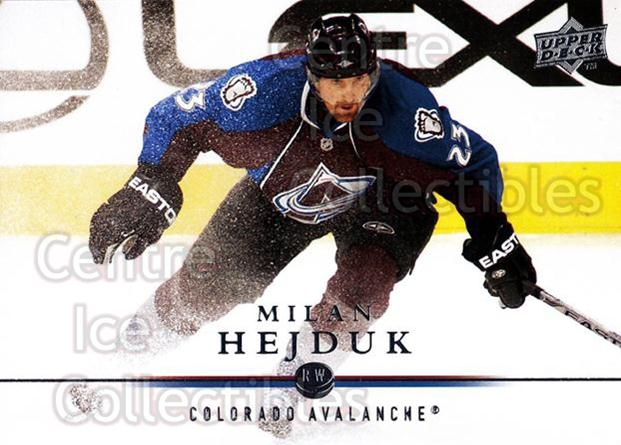 2008-09 Upper Deck #152 Milan Hejduk<br/>14 In Stock - $1.00 each - <a href=https://centericecollectibles.foxycart.com/cart?name=2008-09%20Upper%20Deck%20%23152%20Milan%20Hejduk...&quantity_max=14&price=$1.00&code=214004 class=foxycart> Buy it now! </a>