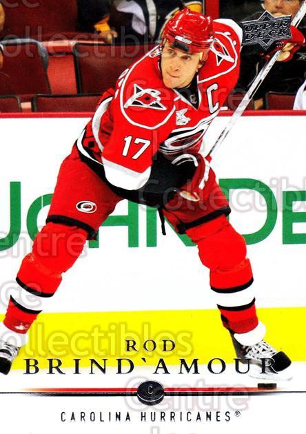 2008-09 Upper Deck #165 Rod Brind'Amour<br/>14 In Stock - $1.00 each - <a href=https://centericecollectibles.foxycart.com/cart?name=2008-09%20Upper%20Deck%20%23165%20Rod%20Brind'Amour...&quantity_max=14&price=$1.00&code=214017 class=foxycart> Buy it now! </a>