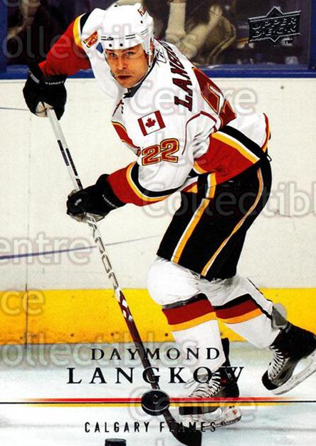 2008-09 Upper Deck #168 Daymond Langkow<br/>14 In Stock - $1.00 each - <a href=https://centericecollectibles.foxycart.com/cart?name=2008-09%20Upper%20Deck%20%23168%20Daymond%20Langkow...&quantity_max=14&price=$1.00&code=214020 class=foxycart> Buy it now! </a>