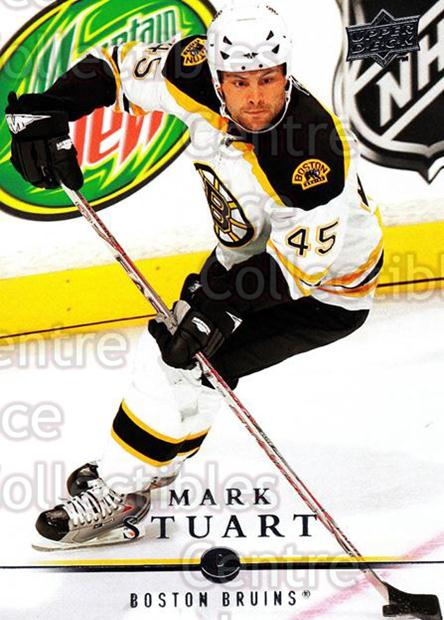 2008-09 Upper Deck #185 Mark Stuart<br/>13 In Stock - $1.00 each - <a href=https://centericecollectibles.foxycart.com/cart?name=2008-09%20Upper%20Deck%20%23185%20Mark%20Stuart...&quantity_max=13&price=$1.00&code=214037 class=foxycart> Buy it now! </a>