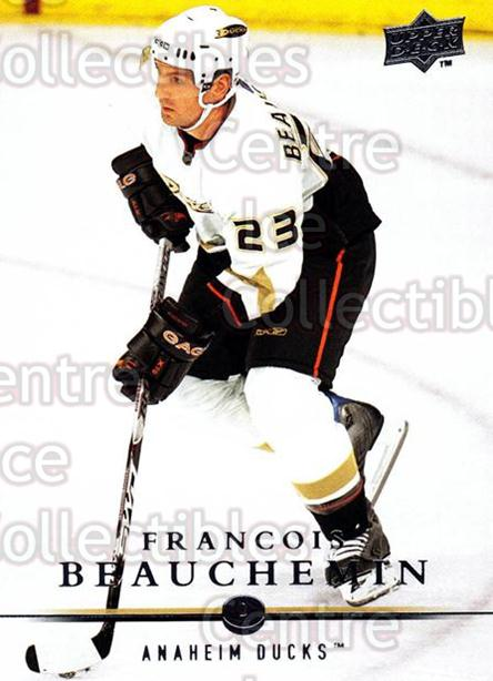 2008-09 Upper Deck #197 Francois Beauchemin<br/>14 In Stock - $1.00 each - <a href=https://centericecollectibles.foxycart.com/cart?name=2008-09%20Upper%20Deck%20%23197%20Francois%20Beauch...&quantity_max=14&price=$1.00&code=214049 class=foxycart> Buy it now! </a>