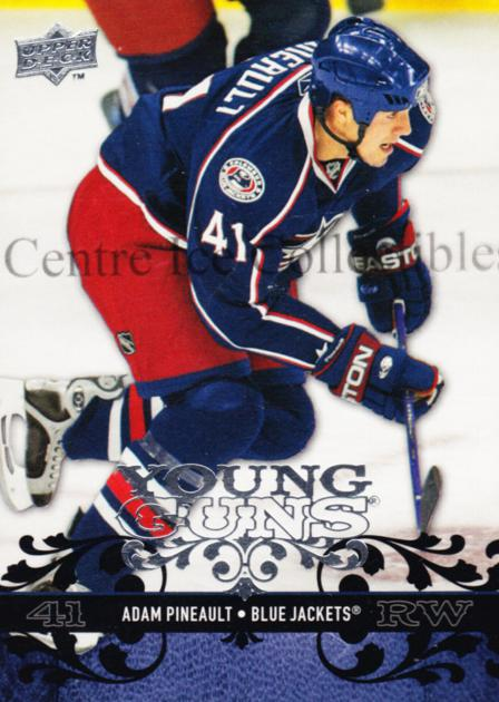 2008-09 Upper Deck #206 Adam Pineault<br/>16 In Stock - $5.00 each - <a href=https://centericecollectibles.foxycart.com/cart?name=2008-09%20Upper%20Deck%20%23206%20Adam%20Pineault...&quantity_max=16&price=$5.00&code=214058 class=foxycart> Buy it now! </a>
