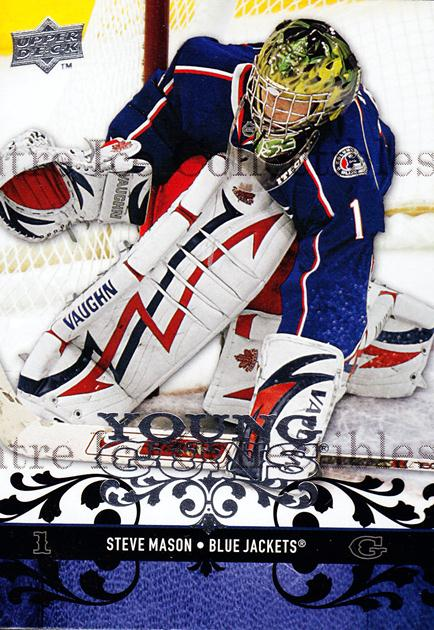 2008-09 Upper Deck #208 Steve Mason<br/>7 In Stock - $5.00 each - <a href=https://centericecollectibles.foxycart.com/cart?name=2008-09%20Upper%20Deck%20%23208%20Steve%20Mason...&quantity_max=7&price=$5.00&code=214060 class=foxycart> Buy it now! </a>