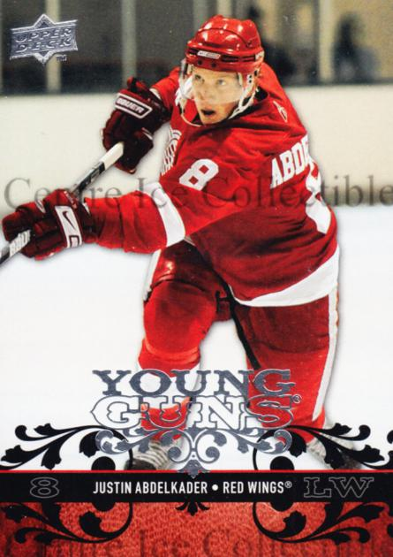2008-09 Upper Deck #211 Justin Abdelkader<br/>6 In Stock - $10.00 each - <a href=https://centericecollectibles.foxycart.com/cart?name=2008-09%20Upper%20Deck%20%23211%20Justin%20Abdelkad...&quantity_max=6&price=$10.00&code=214063 class=foxycart> Buy it now! </a>