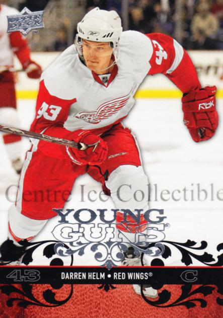 2008-09 Upper Deck #213 Darren Helm<br/>8 In Stock - $5.00 each - <a href=https://centericecollectibles.foxycart.com/cart?name=2008-09%20Upper%20Deck%20%23213%20Darren%20Helm...&quantity_max=8&price=$5.00&code=214065 class=foxycart> Buy it now! </a>