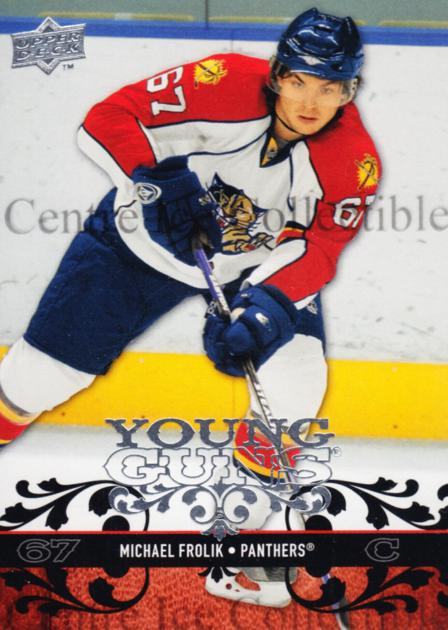 2008-09 Upper Deck #217 Michael Frolik<br/>8 In Stock - $5.00 each - <a href=https://centericecollectibles.foxycart.com/cart?name=2008-09%20Upper%20Deck%20%23217%20Michael%20Frolik...&quantity_max=8&price=$5.00&code=214069 class=foxycart> Buy it now! </a>