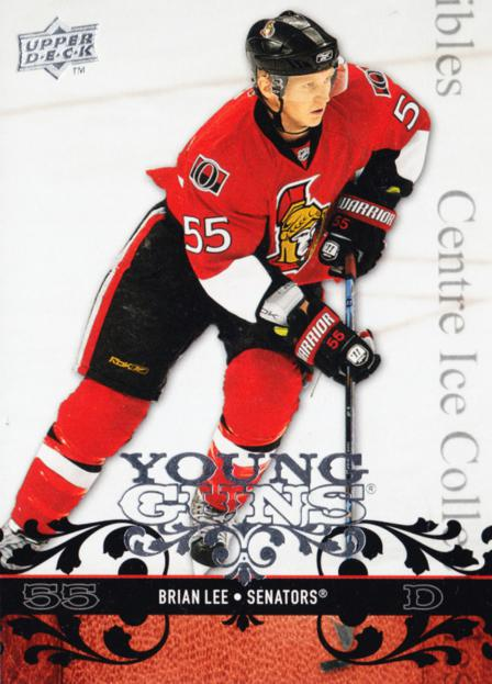 2008-09 Upper Deck #231 Brian Lee<br/>10 In Stock - $5.00 each - <a href=https://centericecollectibles.foxycart.com/cart?name=2008-09%20Upper%20Deck%20%23231%20Brian%20Lee...&quantity_max=10&price=$5.00&code=214083 class=foxycart> Buy it now! </a>